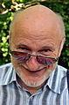 312c04b Ausstellung WasserKunst Zwischen Deich und Teich, Professor Klaus Dierßen von der Universität Hildesheim besuchte den Edelhof Ricklingen und stand auch zum Dialog zur Verfügung.jpg