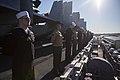 31st MEU Marines man the rails aboard the USS Bonhomme Richard (LHD-6) 150625-M-CX588-141.jpg