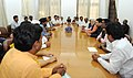 35 MLAs from Maharashtra call on Prime Minister Narendra Modi in March 2015.jpg