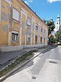 3 Zimmermann Street and Reformed Church, 2020 Pápa.jpg