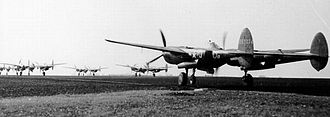 RAF Wormingford - Lockheed P-38H-5-LO Lightnings of the 38th Fighter Squadron. Serial 42-67074 is to the right.