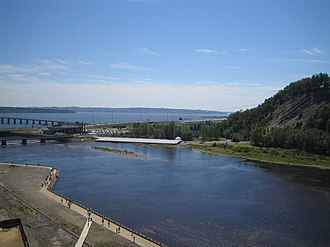 Montmorency River - Mouth of the Montmorency River