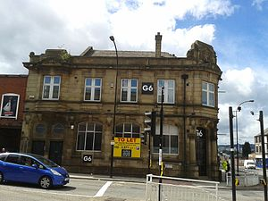 Listed buildings in Sheffield S9 - Image: 580 Attercliffe Road