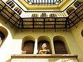 637 Casa Museu Benlliure (València), part posterior de la casa i bust de J. Benlliure Ortiz.jpg