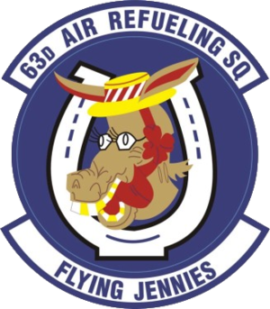 63d Air Refueling Squadron - 63d Air Refueling Squadron Patch