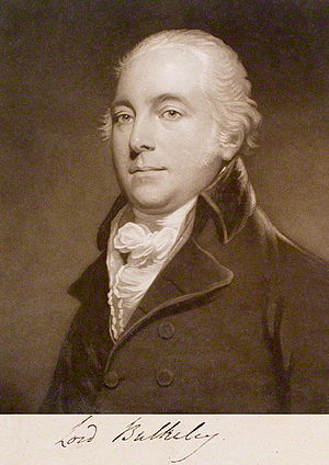 Thomas Bulkeley, 7th Viscount Bulkeley - Lord Bulkeley