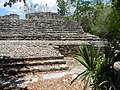 8Cobá - Ball court back.JPG