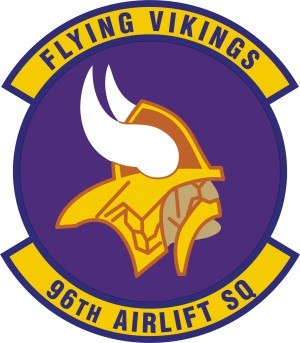 96th Airlift Squadron - Image: 96th Airlift Squadron