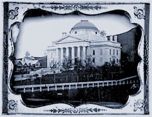 1833 in architecture - Vermont State House, daguerreotype