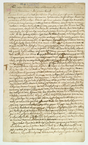 Polish–Lithuanian royal election, 1733 - The Act of Abdication of Stanisław I Leszczyński.