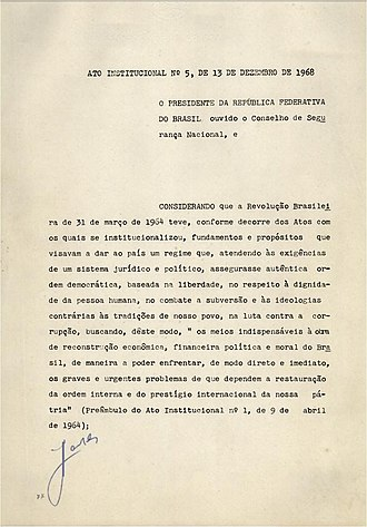 AI-5 - First page of the AI-5.