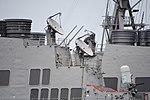 AN SPG-62 radars on board USS Curtis Wilbur (DDG-54) left rear view at U.S. Fleet Activities Yokosuka April 30, 2018.jpg