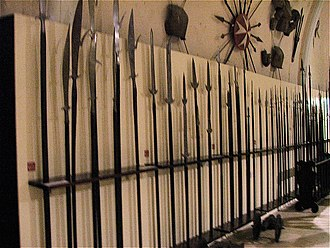Palace Armoury - Pikes in the Palace Armoury