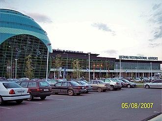 Astana International Airport - Image: ASTANA AIRPORT,KAZAKHSTAN panoramio