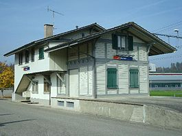 Historic Bannwil train station