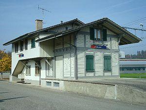 Bannwil - Historic Bannwil train station