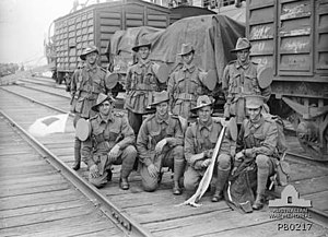 37th Battalion (Australia) - 37th Battalion reinforcements in Melbourne, February 1917