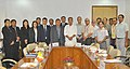 A Bhutan delegation led by the Agriculture Minister of Bhutan, Shri Lyonpo Yeshey Dorji meeting the Union Minister for Agriculture, Shri Radha Mohan Singh, in New Delhi on August 06, 2014.jpg