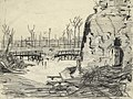 A Bombed Bridge Near Ypres Art.IWMART17287.jpg