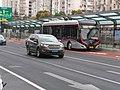 A ZK5120C-Type Trolleybus at Hangdong Road Station, Yan'an Road Bus Medium Transit System.jpg