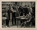 A board of medical officers of the Navy examining a naval ma Wellcome V0015701.jpg