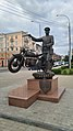 A monument to militsioner in Gomel.jpg