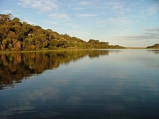 Little Waterhouse Lake Lake in Tasmania, Australia