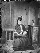 A young woman seated NLW3364664.jpg