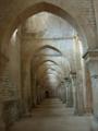 Abbaye de Fontenay bas cote eglise.png
