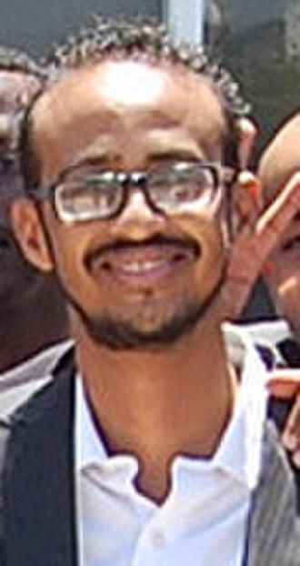 Cinema of Somalia - Filmmaker Abdisalam Aato, a leader in the Somaliwood movement.