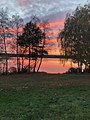 Abenddämmerung am Naturschutzgebiet Talsperre Thülsfeld im Landkreis Cloppenburg.jpg