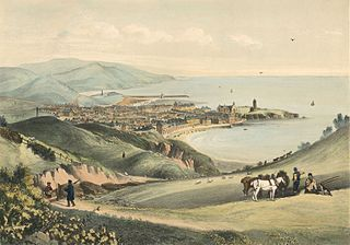 Aberystwith from the north