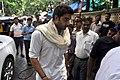 Abhishek Bachchan visits Dara Singh's home 01.jpg