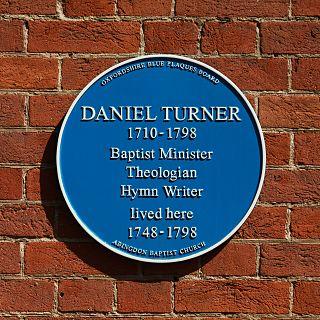 Daniel Turner (hymn writer) English Baptist hymn-writer.