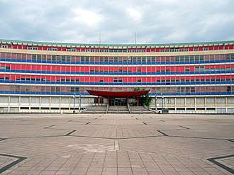 University of Strasbourg - Main Law faculty building of the former Robert Schuman University