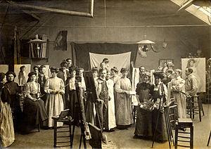 Académie Vitti - Académie Vitti, 1900