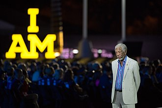 Invictus Games - Academy Award-winning actor Morgan Freeman narrates for the opening ceremony to the 2016 Invictus games in Orlando, Florida