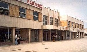 Adapazarı railway station - The station building in 2004.