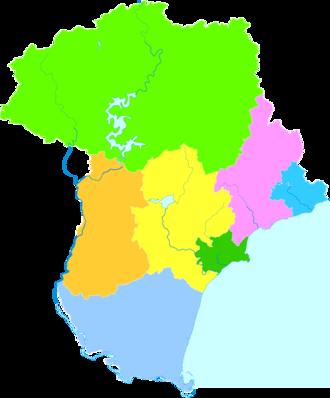 Qinhuangdao - Image: Administrative Division Qinhuangdao 2