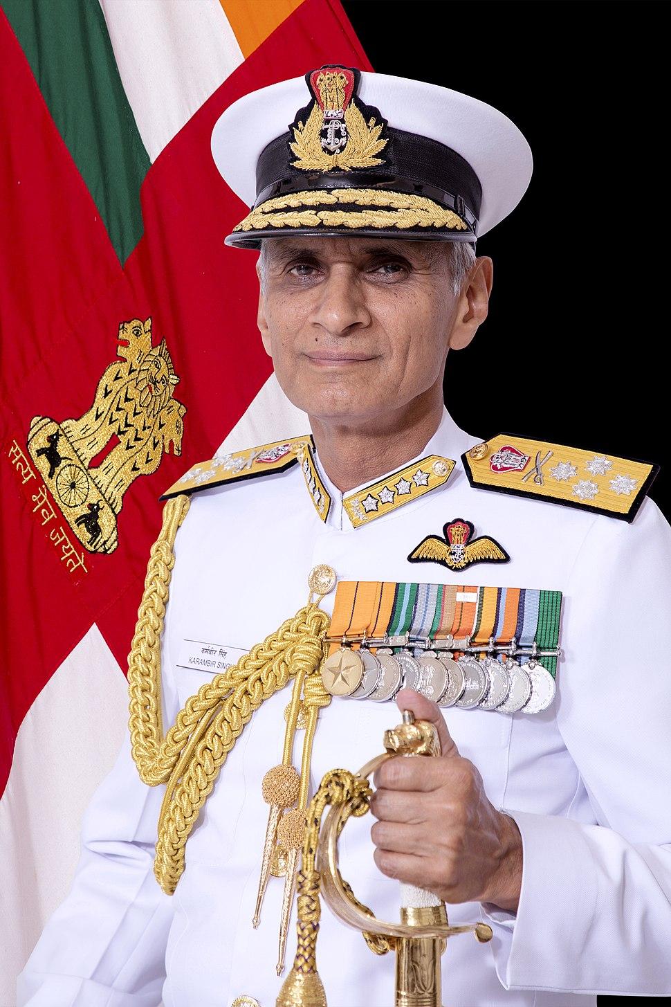 Admiral Karambir Singh, PVSM, AVSM, ADC