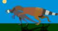 Adult Stokesosaurus clevelandi predating on juvenile Allosaurus fragillis .png