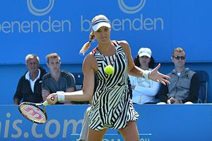 Kristina Mladenovic - Mladenovic at the Aegon International