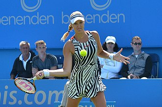 Kristina Mladenovic - Mladenovic at the Aegon International