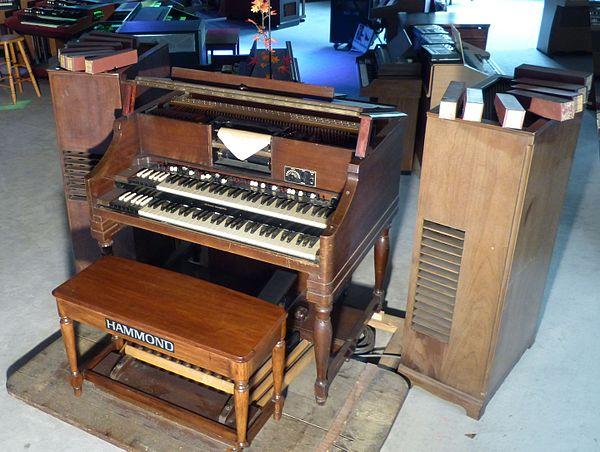List of Hammond organs - Wikiwand