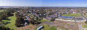 Laverton, Victoria - Aerial panorama of Laverton, Victoria facing south