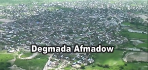 Afmadow - An overview of Afmadow taken by the satellite
