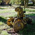 Agricultural tiller at Feeringbury Manor, Feering Essex England 1.jpg