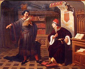 Ausiàs March i el príncep de Viana