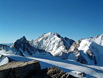 Aiguille d'Argentière - The Aiguille d'Argentière from the north