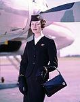 Air Hostess Uniform 1959 Winter 005 (9626677492).jpg